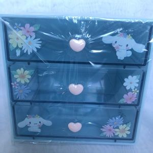 Cinnamoroll 3 Drawers small chest